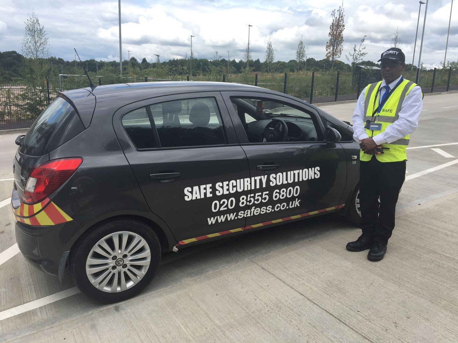 Security patrolling
