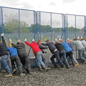 CPNI Crowd fencing