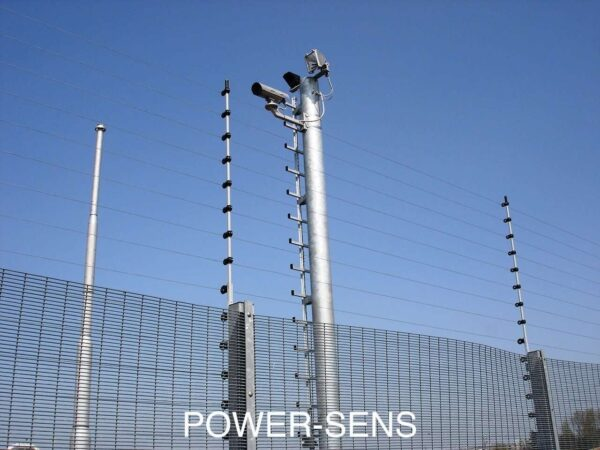 A POWER SENS mounted security system