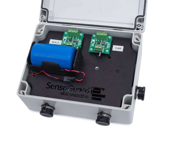 An open processing unit for the SG3 buried detection system from SensoGuard