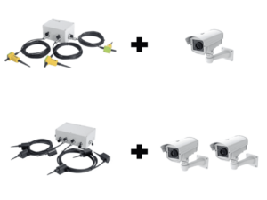Burried detection kits and CCTV camera configurations
